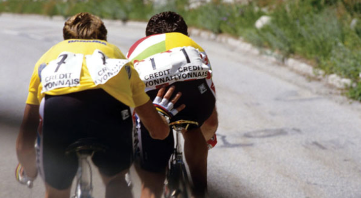 Hinault and LeMond: friends or foes?