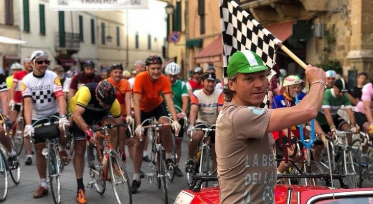 Franco Rossi Presenta il percorso permanente di Eroica Montalcino